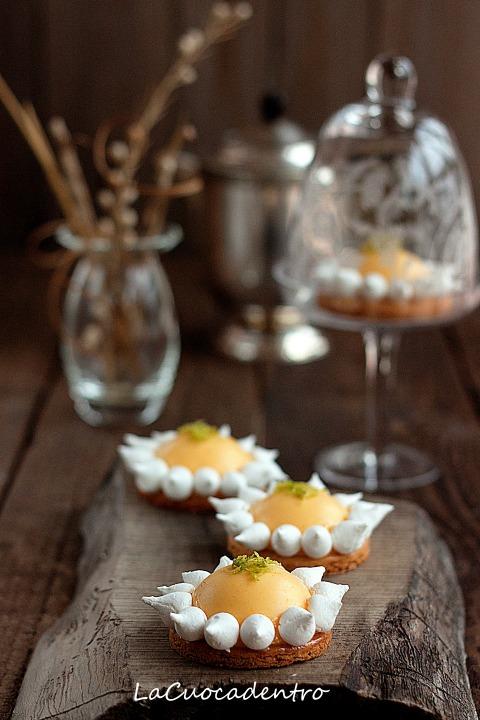 Tartellettes au citron meringuée