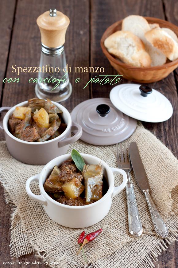Spezzatino di manzo con carciofi e patate