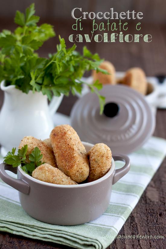 Crocchette di patate e cavolfiore
