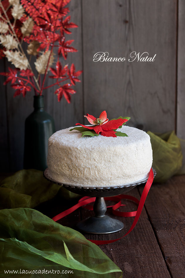 "Torta cocco e arancia ""Bianco Natal"""