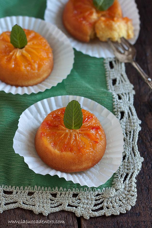 tortine all'arancia e al caramello