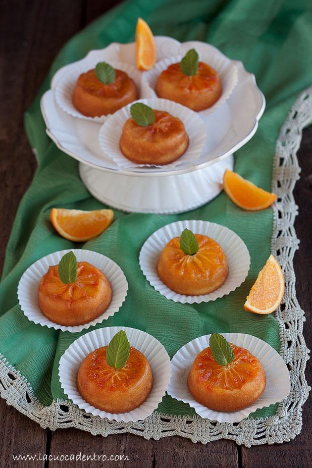 tortine arancia caramello
