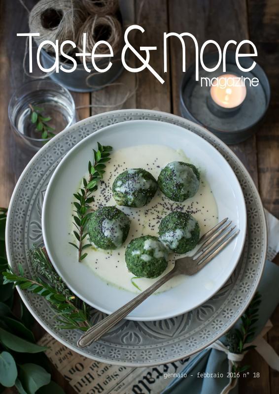 Taste&More Magazine gennaio - febbraio 2016 n° 18 (1)